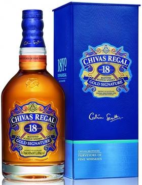 Chivas Régal - 18 ans - 40% - Spiritueux Blended Whisky