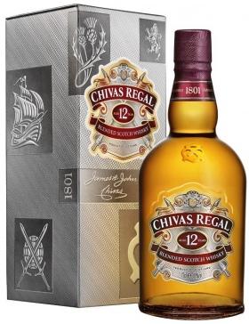 Chivas Régal - 12 ans - 40% - Spiritueux Blended Whisky