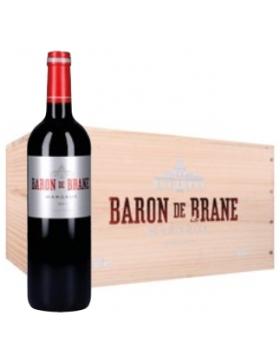 Baron de Brane - 2018 - Caisse bois X6 - Vin Margaux