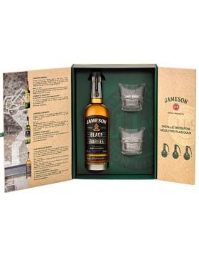 Jameson Black Barrel + 2 Verres - Spiritueux Irlande