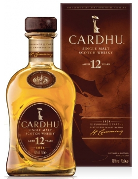 Cardhu - 12 ans Scotch Whisky