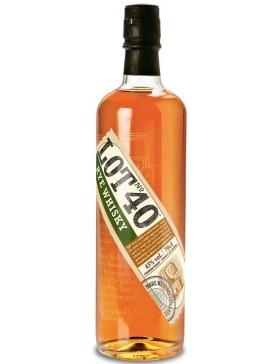 CANADIAN RYE WHISKY LOT 40 - Spiritueux Whisky du Monde