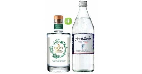 Pack Gin Ceder's Wild & Tonic Premium Archibald