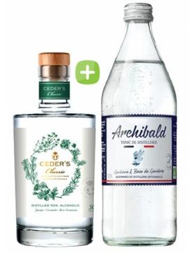 Pack Gin Ceder's Wild & Tonic Premium Archibald - Spiritueux Packs - Kits et Box Cocktails