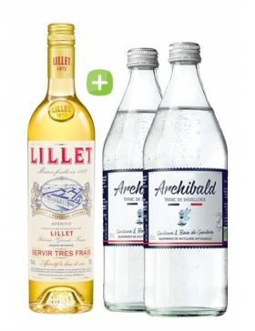 Pack Lillet Blanc & Tonic Premium Archibald - Spiritueux Packs - Kits et Box Cocktails