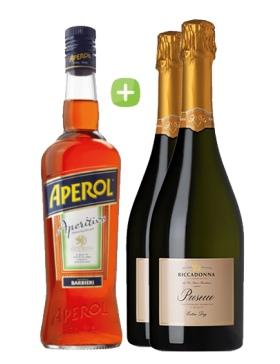 Pack Apérol Spritz & Prosecco - Spiritueux Packs - Kits et Box Cocktails