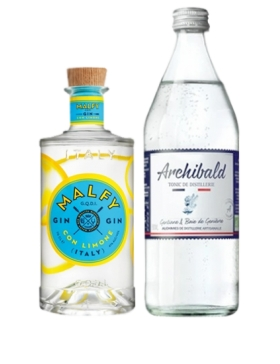 Pack Gin Malfy Con Limone & Tonic Premium Archibald - Spiritueux Packs - Kits et Box Cocktails