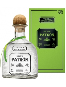 Patron Tequila Silver - Spiritueux Tequila