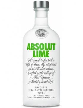 ABSOLUT LIME - Spiritueux Vodka