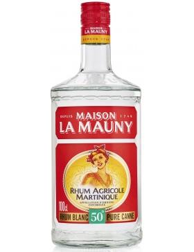 Maison la Mauny Rhum Blanc Agricole 50% - 1L - Spiritueux Antilles