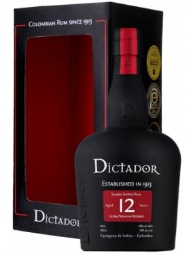 Dictador 12 ans Rum - Spiritueux Amériques du Sud