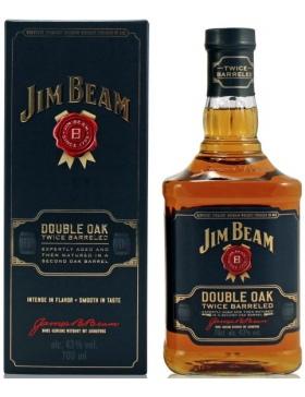 JIM BEAM Double Oak - Etui - Spiritueux Bourbon Whiskey