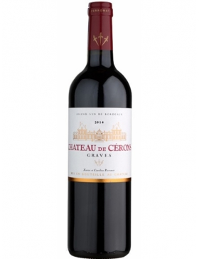 Château de Cérons - Rouge - 2015 - Vin Graves