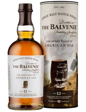 The Balvenie The Sweet Toast Of America Oak 12 Ans