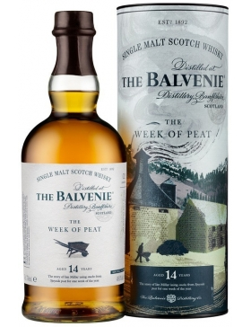 The Balvenie The Week Of Peat 14 Ans - Spiritueux Ecosse / Speyside