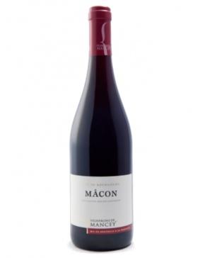 Les Vignerons de Mancey - Mâcon rouge - 2018 - Vin Mâcon
