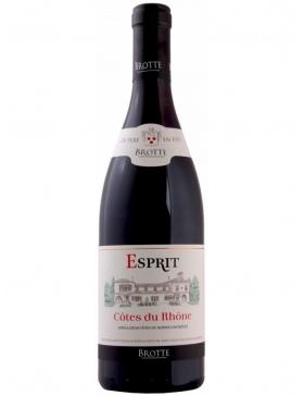 Maison Brotte - Esprit de Barville - Rouge - 2018 - Vin Côtes du Rhône