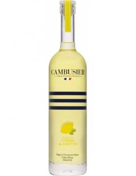 Cambusier - Liqueur de Citron de Menton - Spiritueux Liqueurs