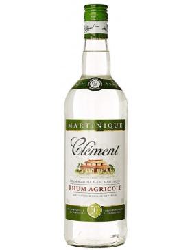 Clément Rhum Agricole Blanc 50% - Spiritueux Antilles