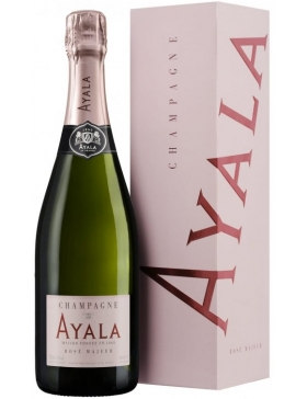 Ayala Brut Rosé Majeur - Etui - Champagne AOC Ayala