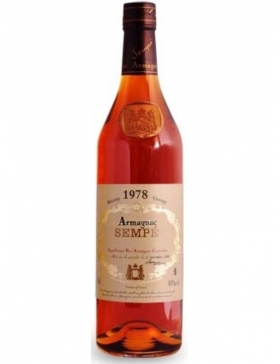 Armagnac Sempé - 1978 - Spiritueux Armagnac