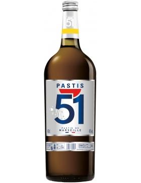 Pastis 51 - Gallon 4,5L - Spiritueux Anisés