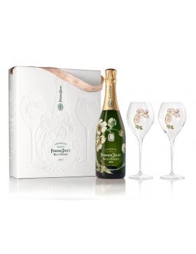 Perrier-Jouët Belle Epoque 2013 - Coffret 2 Flûtes - Champagne AOC Perrier-Jouët