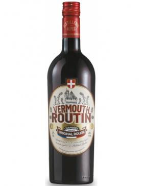Distillerie des Alpes - Vermouth Routin Rouge - Spiritueux Liqueurs