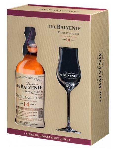 The Balvenie Caribbean Cask 14 Ans - Coffret 1 Verre
