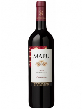 Mapu Reserva Carmenère - Rouge - 2018 - Vin Central Valley