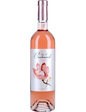 Vignoble Bonfils clair de cantaussels Rosé - Vin Pays d'Oc