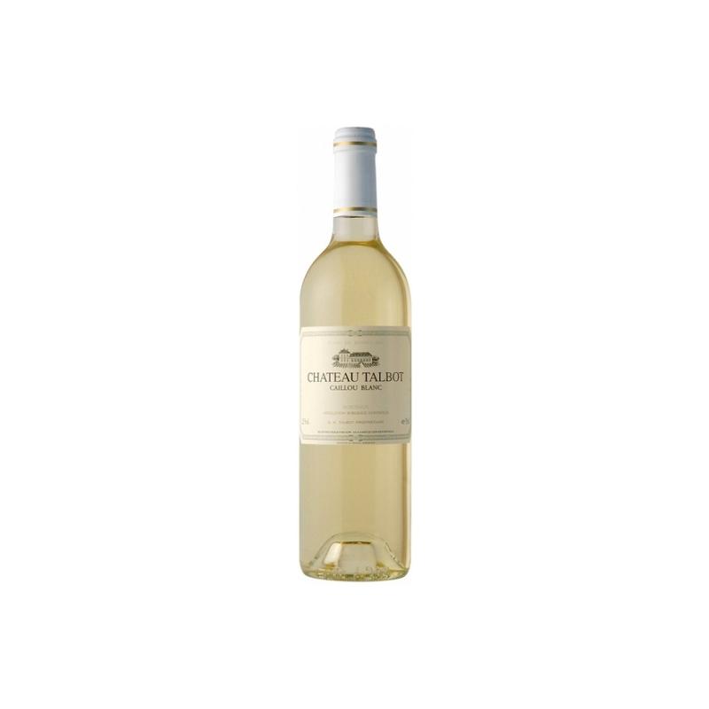 Vin caillou blanc du ch teau talbot au meilleur prix for Prix du gravillon blanc