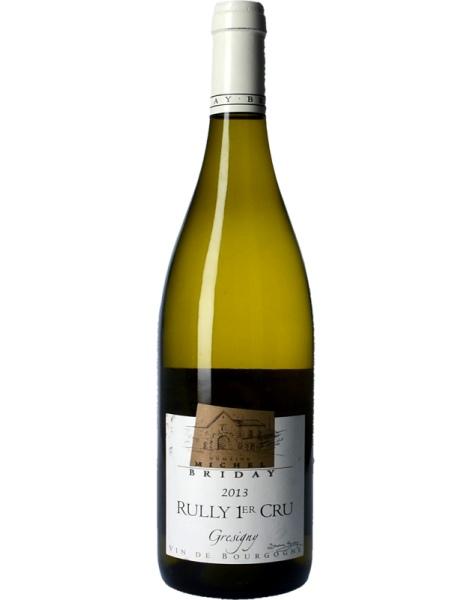 Rully 1er Cru Grésigny Domaine Briday - Blanc