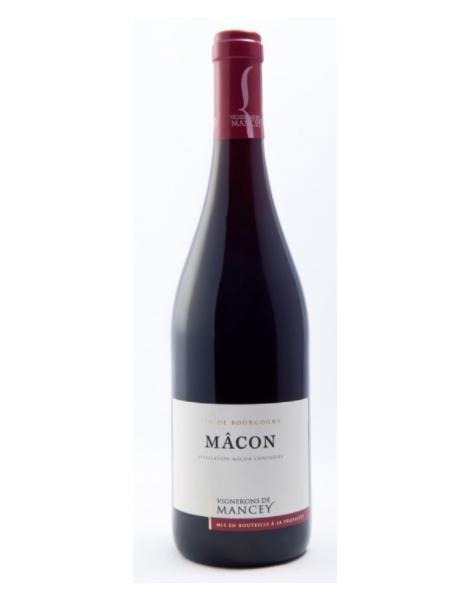 Les Vignerons de Mancey - Mâcon rouge - Rouge